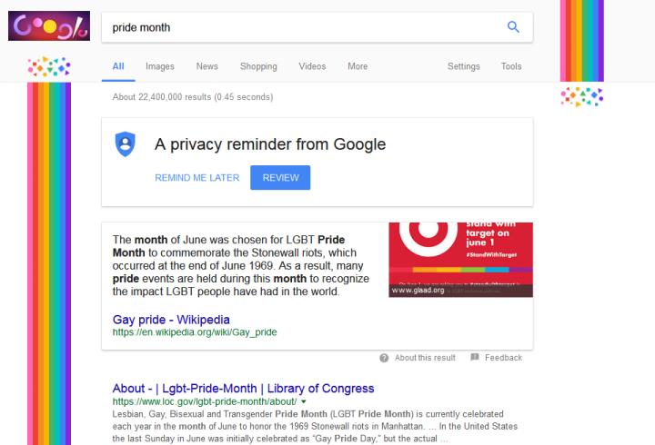 Google Pride