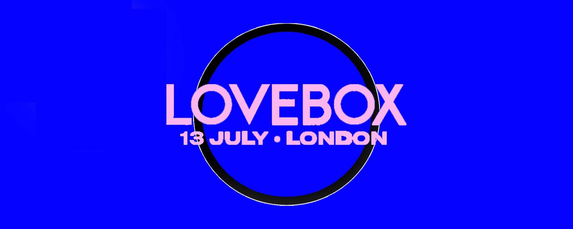 LoveBox Music Festival London Gunnersbury Park 13 July Saturday 2019