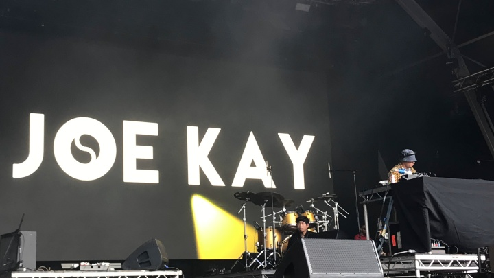 Joe Kay Soulection at Somerset House Summer Series Stage 20 July 2019
