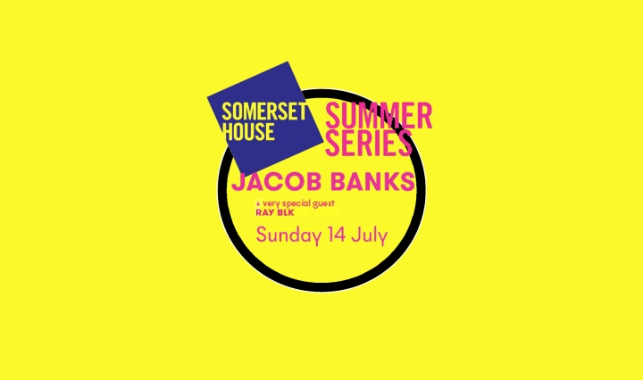 Jacob Banks at Somerset House Summer Series London 14 July 2019