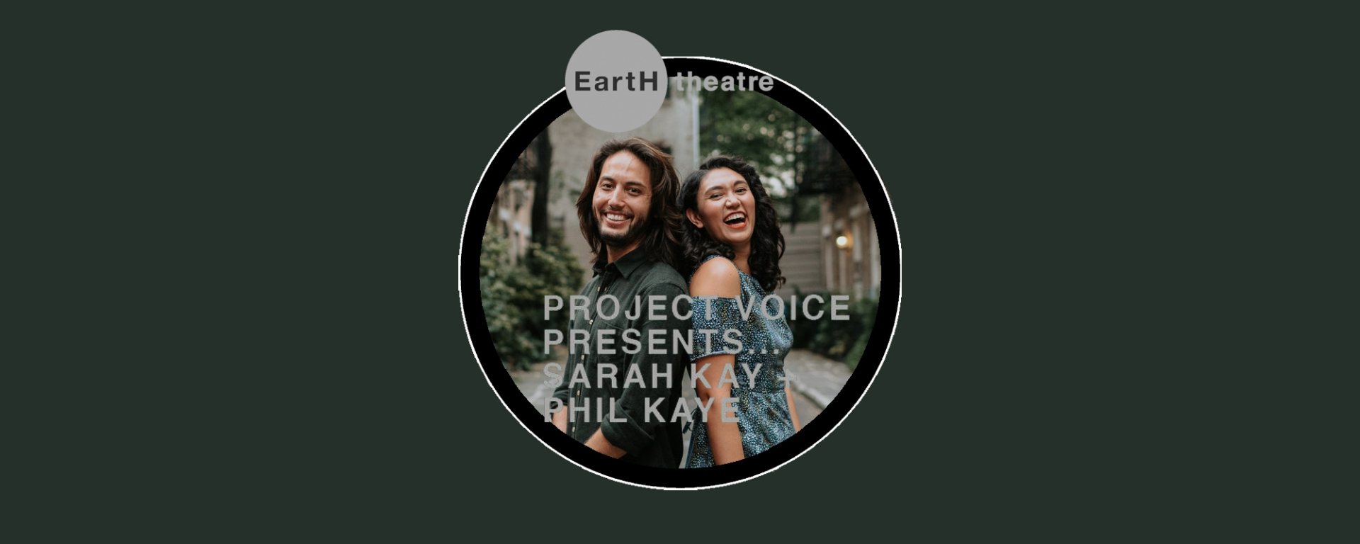 Phil Kaye and Sarah Kay at EartH theatre London 2019