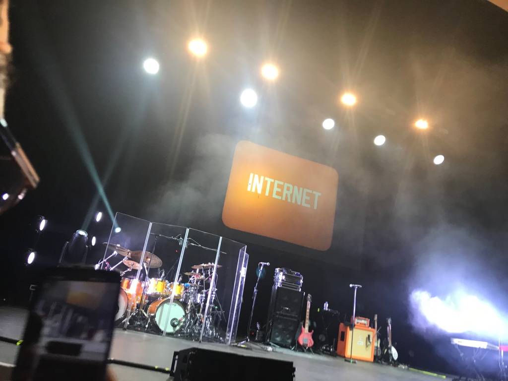 Front row for The Internet at O2 Academy Brixton London
